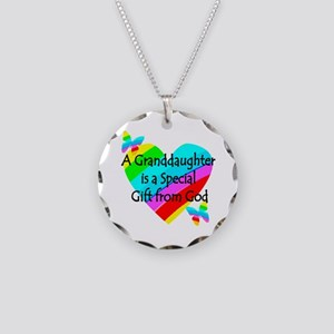 GRANDDAUGHTER Necklace Circle Charm