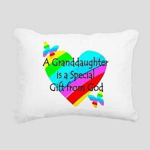 GRANDDAUGHTER Rectangular Canvas Pillow