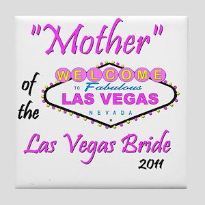 mother of bride pristina Tile Coaster