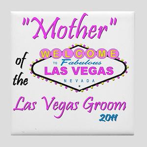mother of groom pristina Tile Coaster