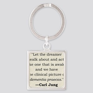 Jung Square Keychain
