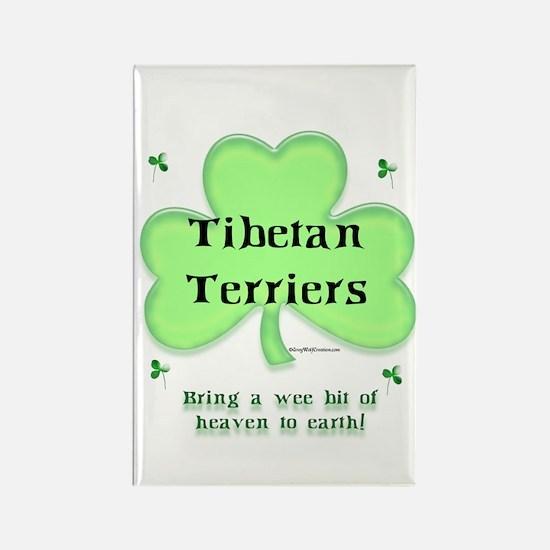 Tibetan Terrier Heaven Rectangle Magnet