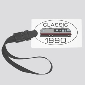 Classic_1990_BURGUNDY_325_345_MH Large Luggage Tag