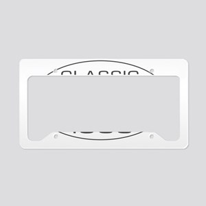 Classic_1988_325_345_MH_oval_ License Plate Holder
