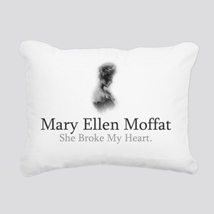 Mary Ellen Moffat Broke Rectangular Canvas Pillow