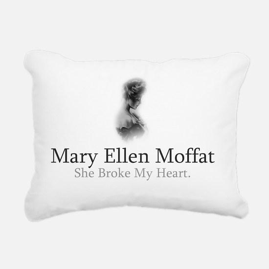 Mary Ellen Moffat Broke Rectangular Canvas Pillow