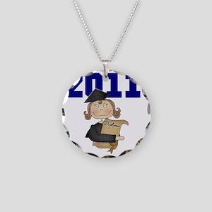 2011BLUGIRL Necklace Circle Charm