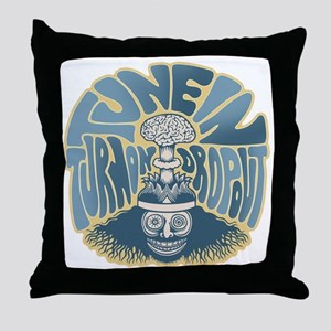tune-in-T Throw Pillow