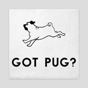 Got Pug? Queen Duvet