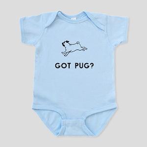 Got Pug? Baby Light Bodysuit