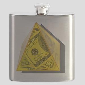YellowPowerPyramidMoney021411 Flask