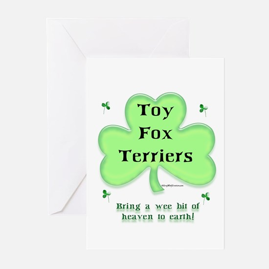 Toy Fox Heaven Greeting Cards (Pk of 10)