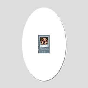 GCQ004_Rogan 20x12 Oval Wall Decal