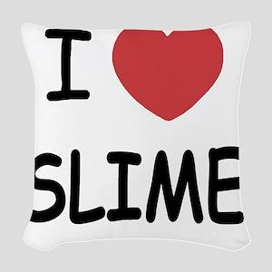 SLIME Woven Throw Pillow