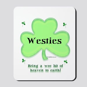 Westie Heaven Mousepad