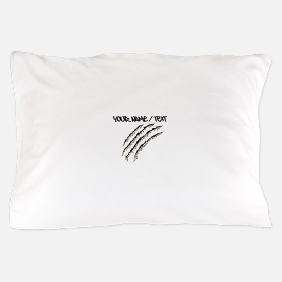 Torn Claw Mark Pillow Case