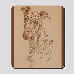 Greyhound_Fawn_KlineX Mousepad