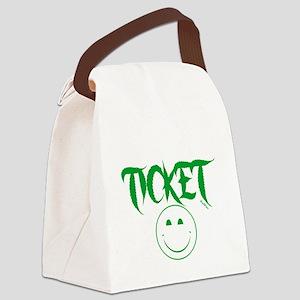 1stclassticketb Canvas Lunch Bag