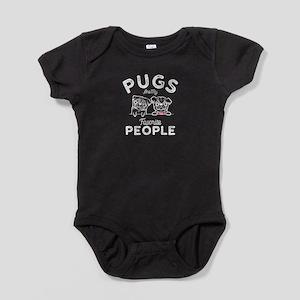 Pugs Baby Bodysuit