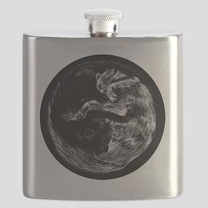 taoistcats2 Flask