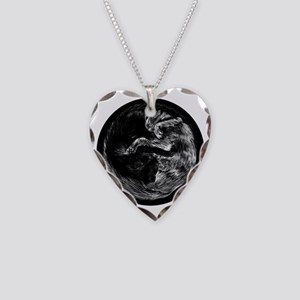 taoistcats2 Necklace Heart Charm