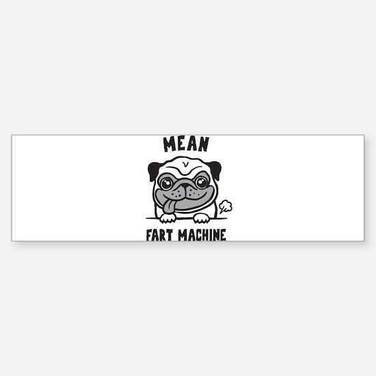 Pug Sticker (Bumper)