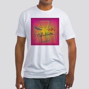 Celebrate whatever Fitted T-Shirt