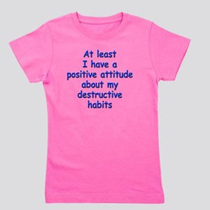 destructive-habits_rnd1 Girl's Tee