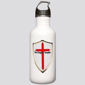 Templar Shield Large Stainless Water Bottle 1.0L