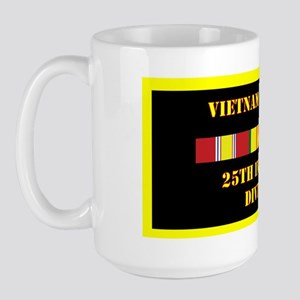 army-25th-infantry-division-vietnam-lp Large Mug