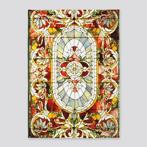 Regal_Splendor_Stained_Glass_23 35  5'x7'Area Rug