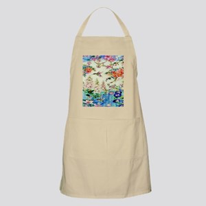 HUMMINGBIRD_STAINED_GLASS_10 14 Framed Print Apron
