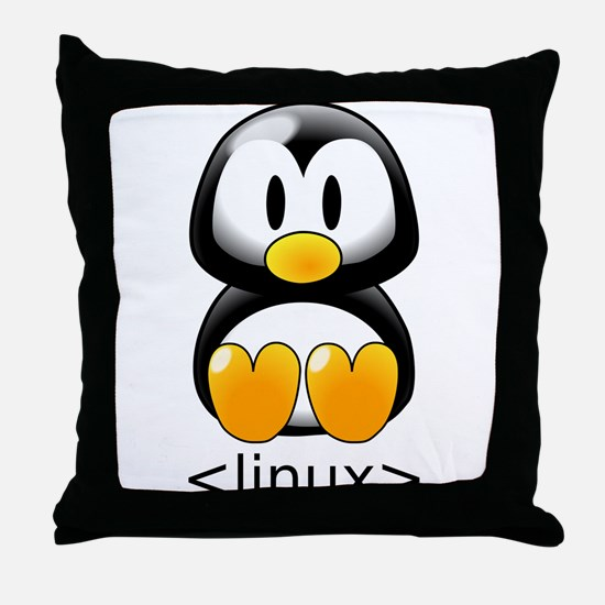 <linux> Throw Pillow