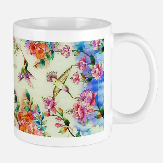 HUMMINGBIRD_STAINED_GLASS_14 6_Framed P Mug