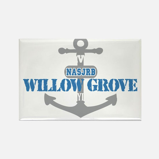 PA Willow Grove 2 Rectangle Magnet