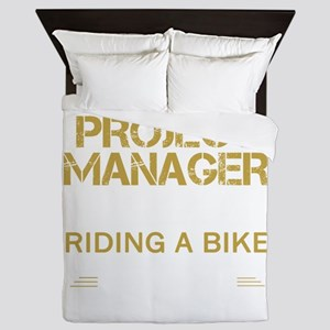 BEING A PROJECT MANAGER Queen Duvet