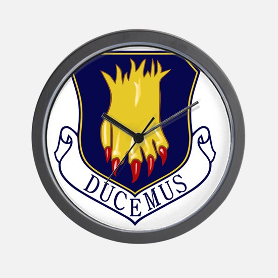22nd Bomb Wing - Ducemus Wall Clock