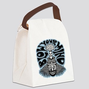 blow-mind-T Canvas Lunch Bag