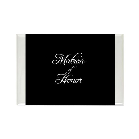 Matron Of Honor - Formal Rectangle Magnet (100 pac