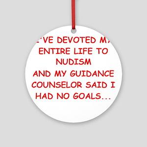 nudism Ornament (Round)