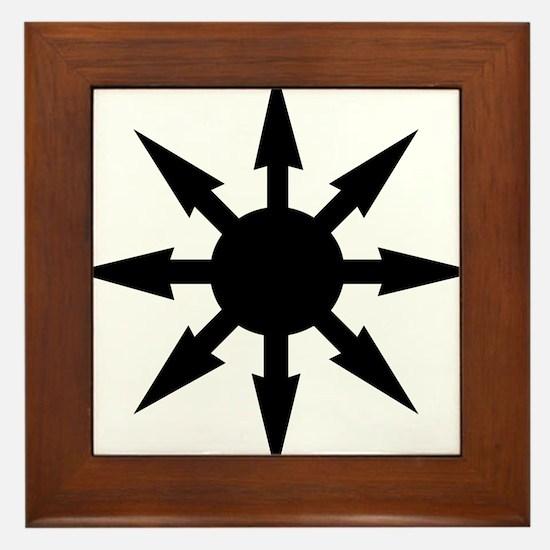 chaosstar01 Framed Tile