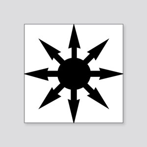 "chaosstar01 Square Sticker 3"" x 3"""