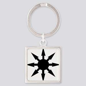 chaosstar01 Square Keychain