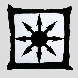 chaosstar01 Throw Pillow