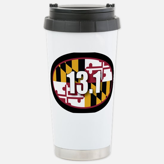 Maryland-131-OVALsticker Stainless Steel Travel Mu