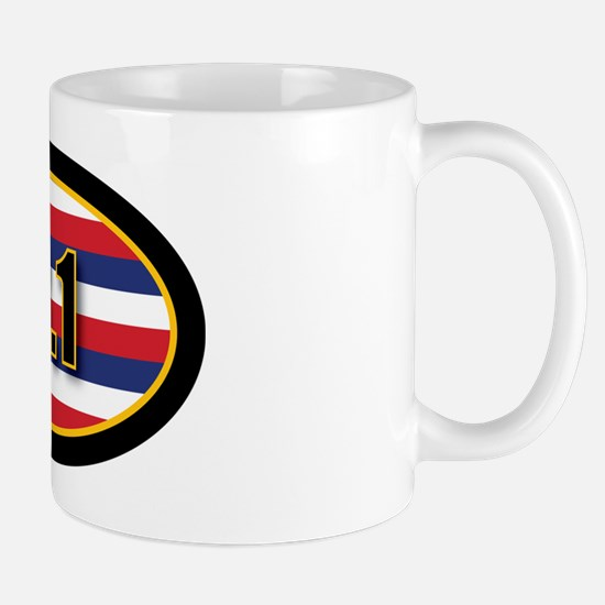 HAWAII-131-OVALsticker Mug