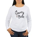 Western Bride Women's Long Sleeve T-Shirt