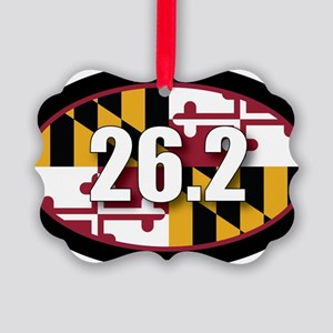 Maryland-262-OVALsticker Picture Ornament
