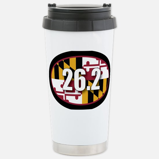 Maryland-262-OVALsticker Stainless Steel Travel Mu
