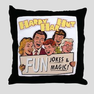 hardyharhut_color Throw Pillow